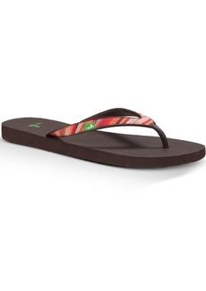 Sanuk Women's Shimmy Flip Flop