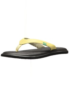 Sanuk Women's Yoga Chakra Flip-Flop Yellow pear 0 M US