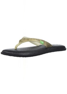 Sanuk Women's Yoga Chakra Metallic Flip-Flop
