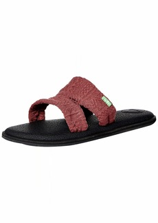 Sanuk Women's Yoga Mat Capri Slide Sandal   M US