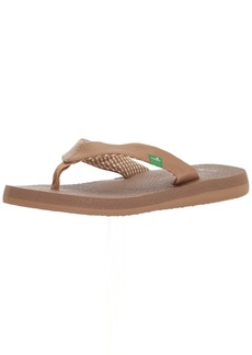 Sanuk Women's Yoga Mat Tonal Flip-Flop