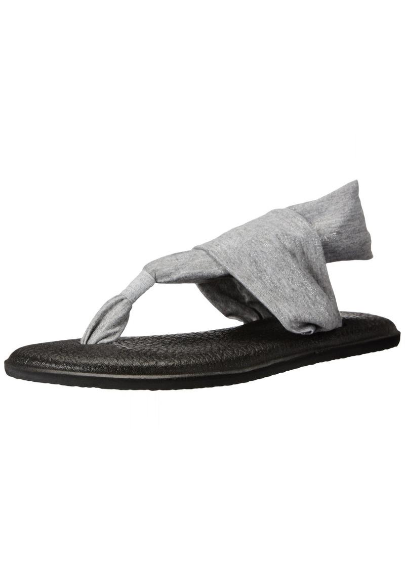 Sanuk Women's Yoga Sling 2 Metallic Flip Flop   M US