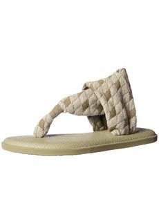 Sanuk Women's Yoga Sling 2 Print Vintage Sandal Burnt Olive ARG