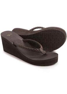 Sanuk Yoga Braided Wedge Sandals (For Women)