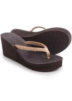 Sanuk Yoga Braided Wedge Sandals (For Women)