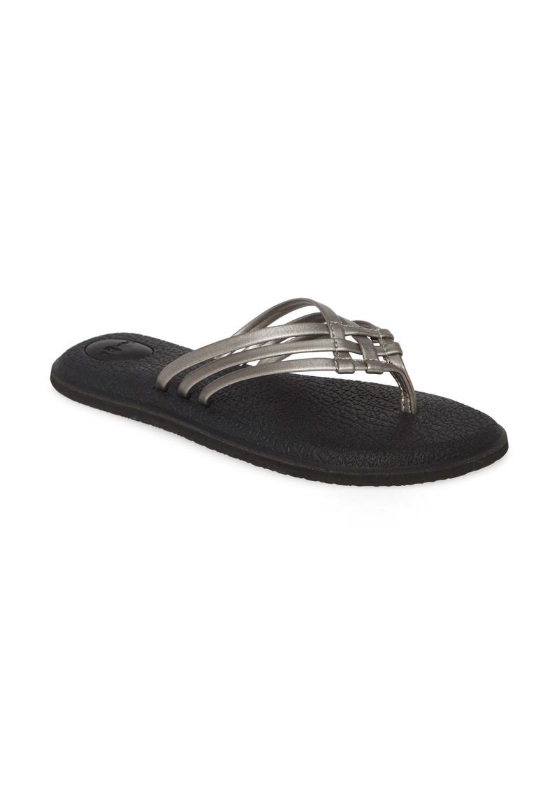 Sanuk Yoga Salty Flip Flop (Women)