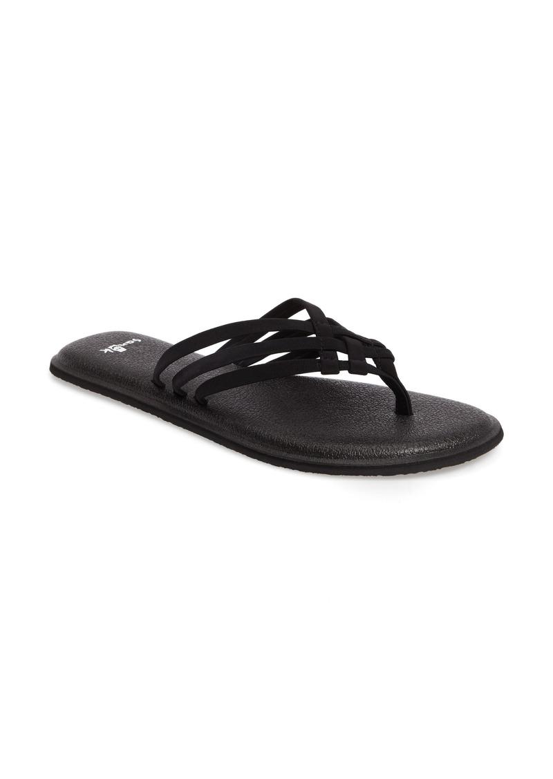 5054bcf6b05694 Sanuk Sanuk Yoga Salty Flip Flop (Women)