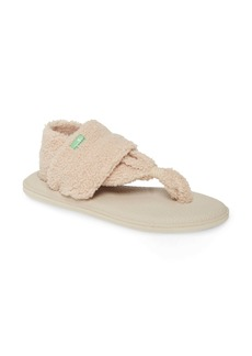 Sanuk Yoga Sling Chill Faux Shearling Sandal (Women)
