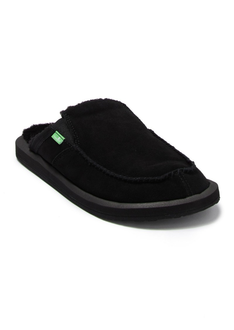 Sanuk You Got My Back II Chill LX Suede Faux Shearling Slipper