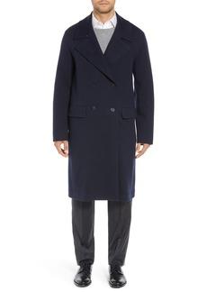 Sanyo Wool Blend Chesterfield Coat
