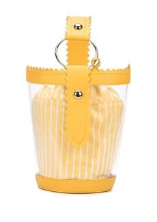 Sara Battaglia clear bucket bag