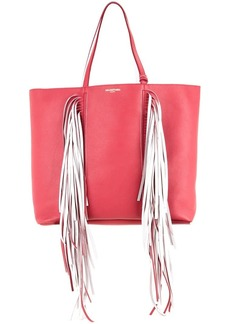 Sara Battaglia Everyday Fringed shopper bag