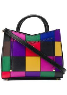 Sara Battaglia mini patchwork tote bag