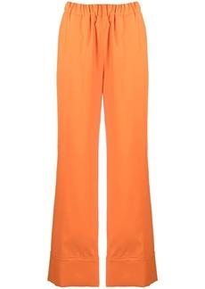 Sara Battaglia PJ wide-leg trousers