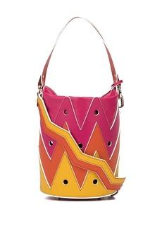 Sara Battaglia Rose Hole bucket bag
