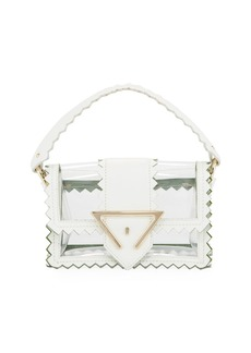 Sara Battaglia Helen Mini PVC Shoulder Bag