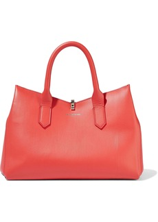 Sara Battaglia Woman Carneira Leather Tote Red