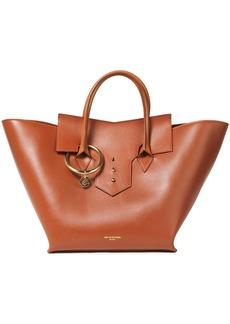 Sara Battaglia Woman Toujours Leather Tote Tan