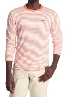 Saturdays NYC Alek Feeder Stripe Long Sleeve T-Shirt