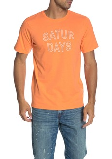 Saturdays NYC Convex Block Logo T-Shirt