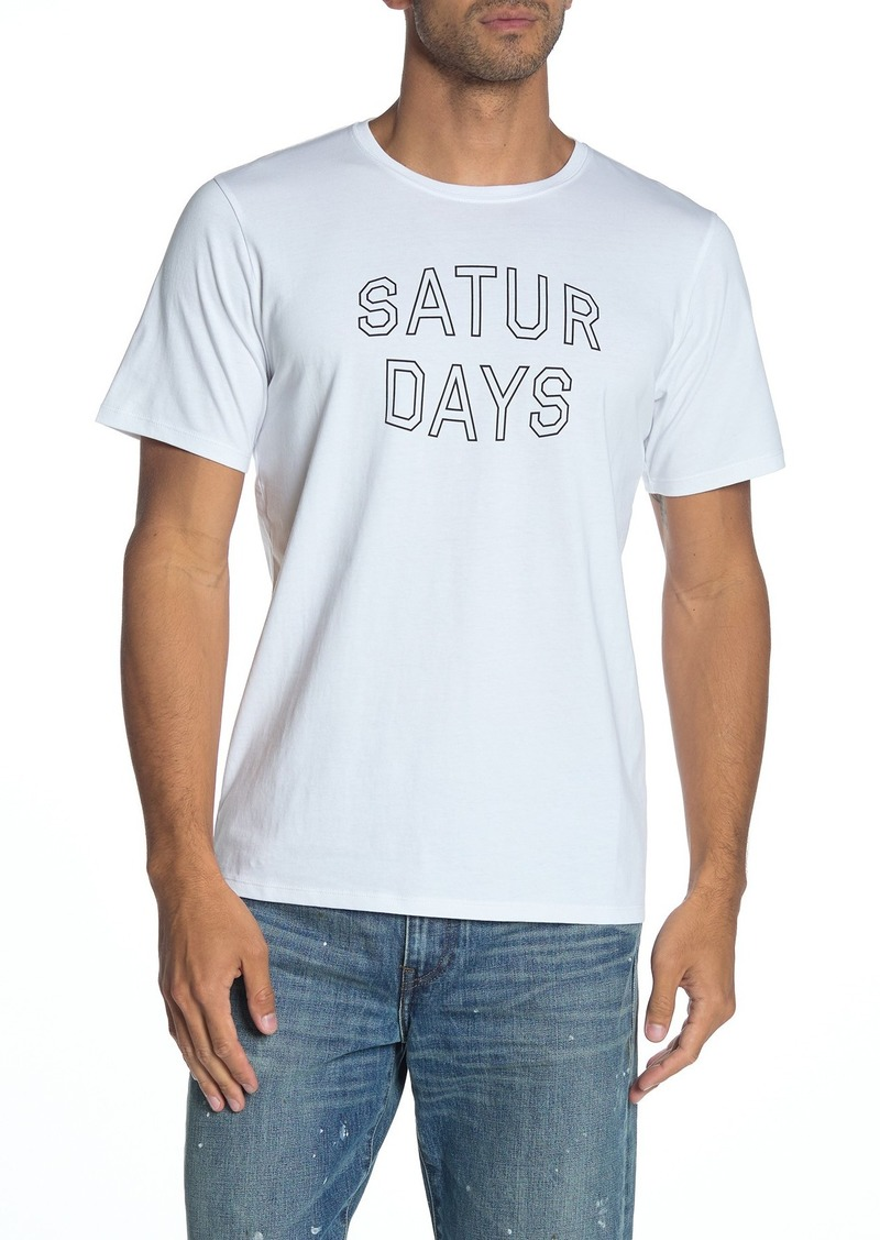 Saturdays NYC Convex Block Logo T-Shirt