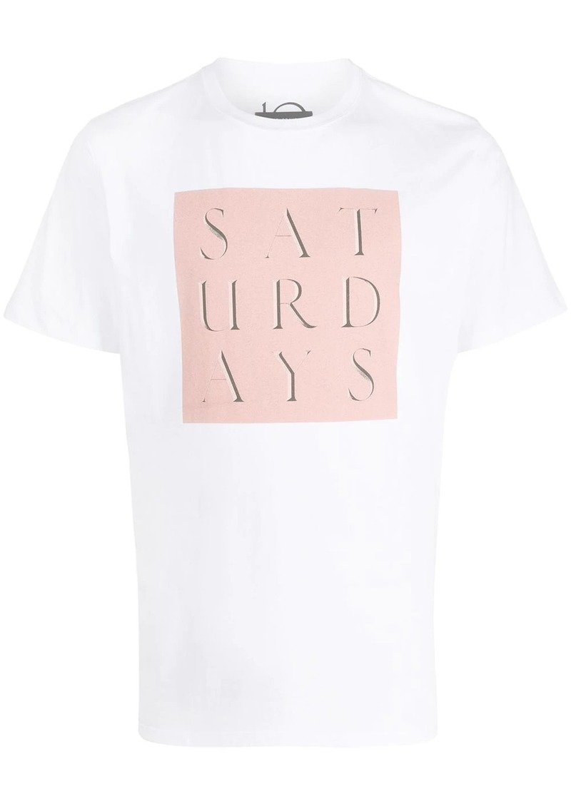 Saturdays NYC logo crew-neck T-shirt