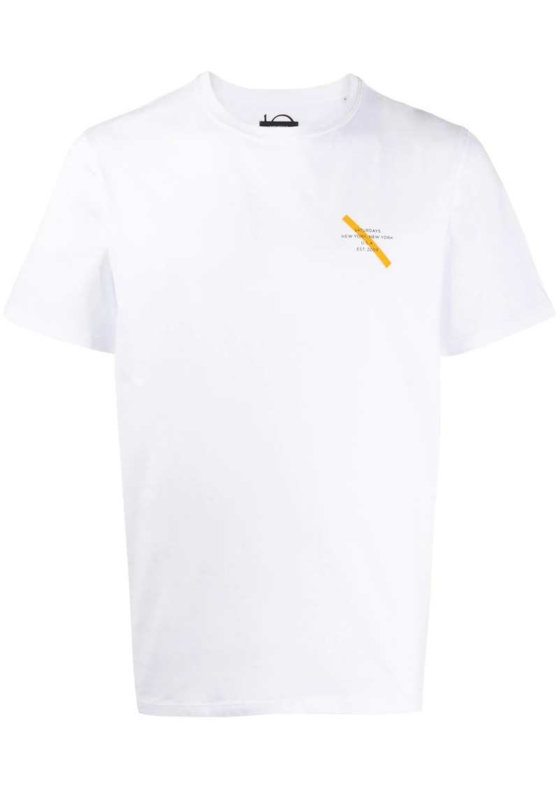 Saturdays NYC logo print T-shirt