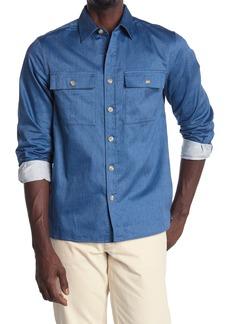 Saturdays NYC Magnus Twill Long Sleeve Shirt