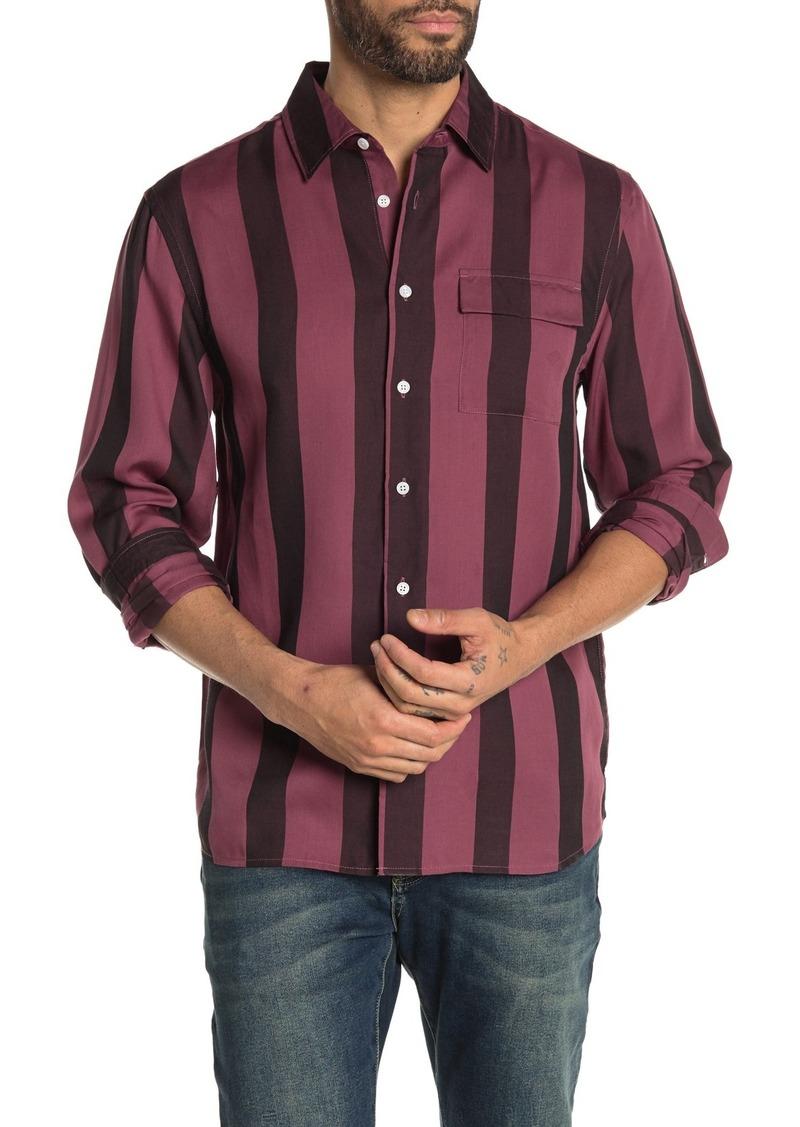 Saturdays NYC Miro Broad Stripe Shirt