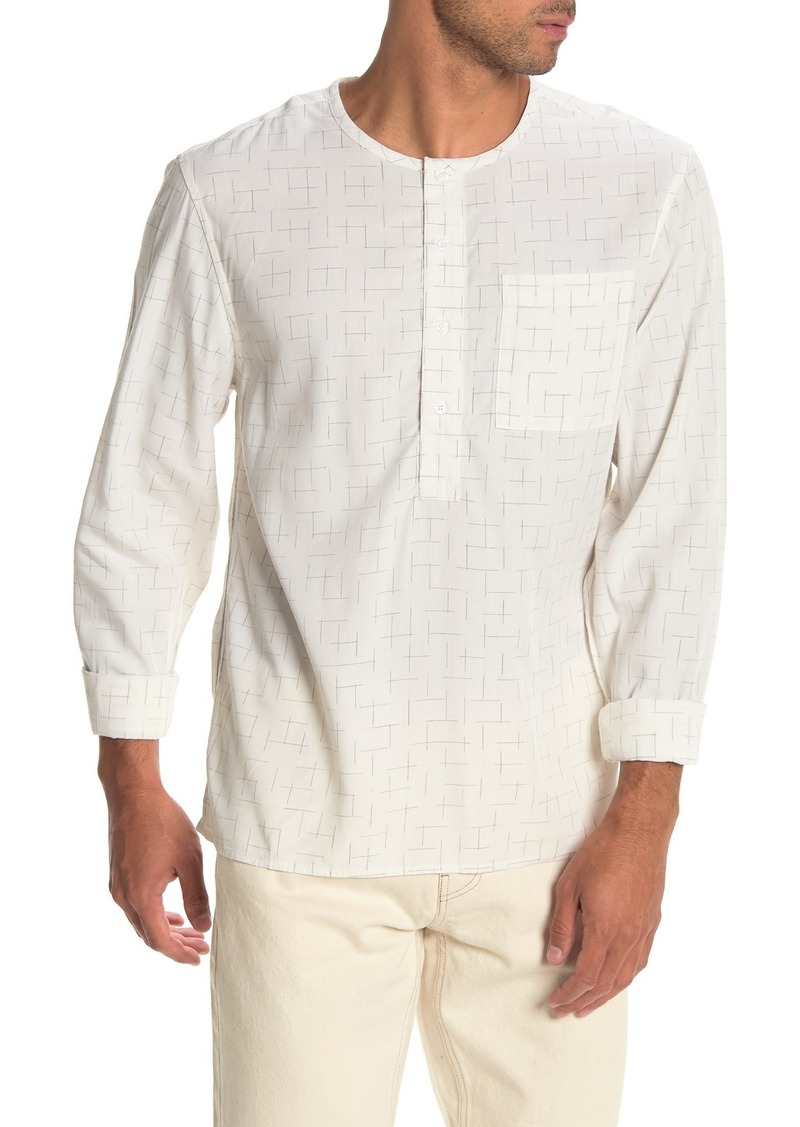 Saturdays NYC Pontus Kasuri Trim Fit Shirt