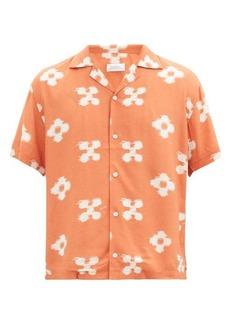 Saturdays NYC Canty floral-print crepe shirt