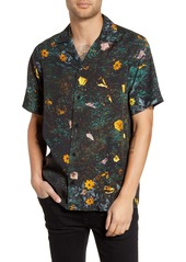 Saturdays NYC Canty Transition Short Sleeve Button-Up Camp Shirt