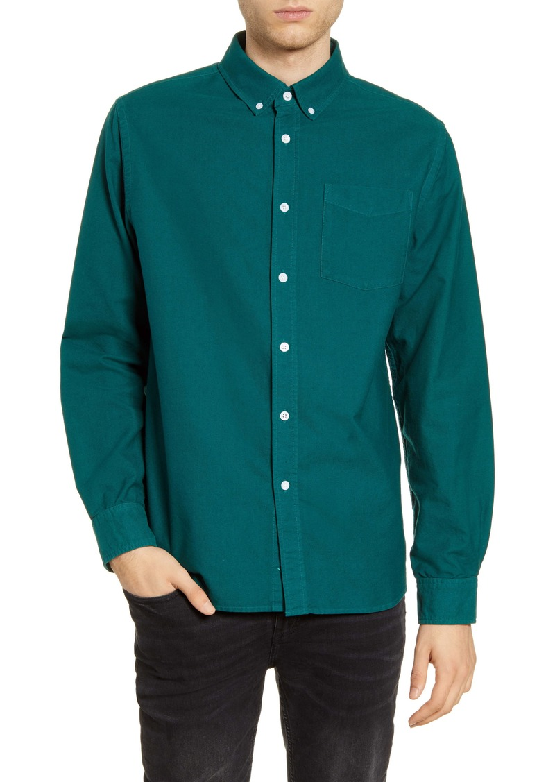 Saturdays NYC Crosby Button-Down Oxford Shirt