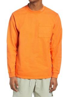 Saturdays NYC Dekalb Mock Neck Long Sleeve T-Shirt
