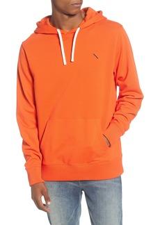 Saturdays NYC Ditch Embroidered Slash Hooded Sweatshirt