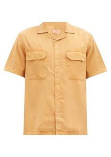 Saturdays NYC Gibson flap-pocket Tencel shirt