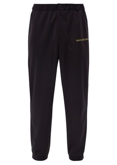 Saturdays NYC Gino technical-jersey track pants