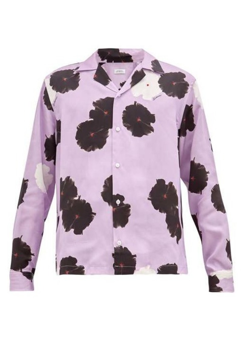 Saturdays NYC Marco moonflower-print lyocell shirt