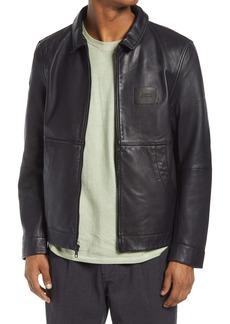 Saturdays NYC Men's Harrington Leather Jacket