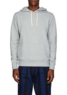 Saturdays NYC Men's Slash-Embroidered Cotton Terry Hoodie