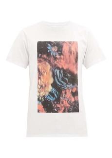Saturdays NYC Night Floral cotton T-shirt