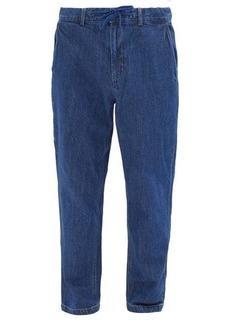 Saturdays NYC Shaw drawstring-waist jeans