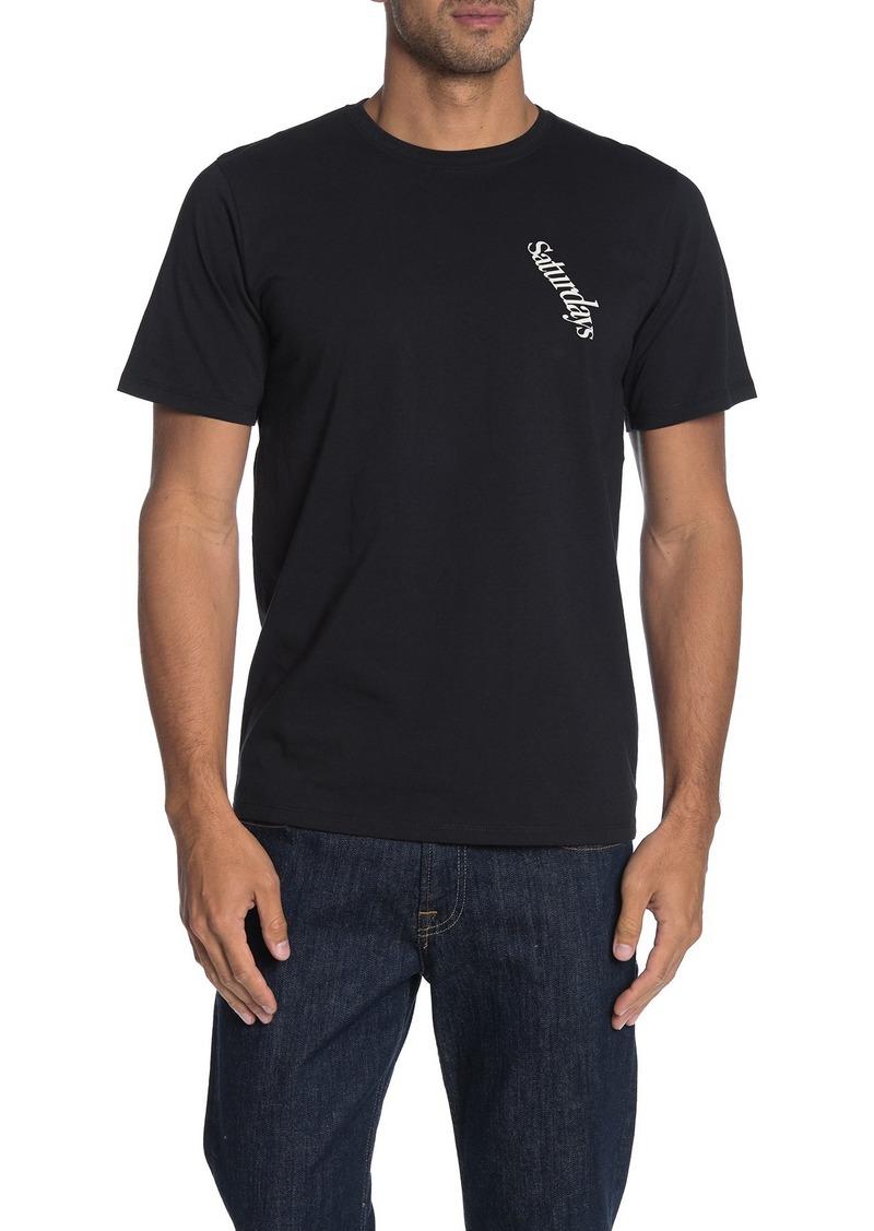 Saturdays NYC Warped Logo T-Shirt