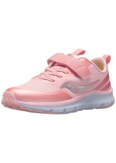 Saucony Girls' Liteform Feel A/C Sneaker  13 Medium US Little Kid