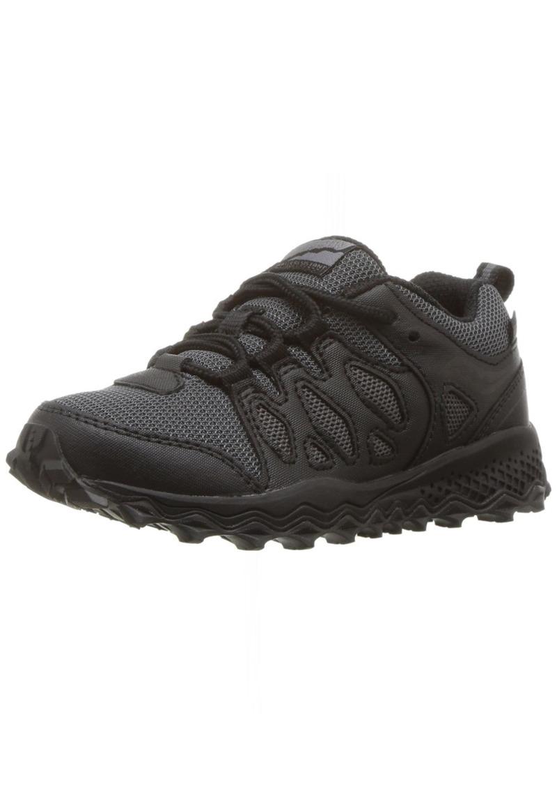 Saucony Kids' Peregrine Shield Sneaker black 11.5 Medium US Little Kid