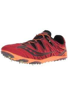 Saucony Men's CARERRA XC3 Cross Country Running Shoe red/Orange