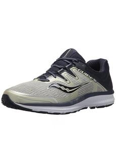 Saucony Men's Guide ISO Running Shoe Grey/Navy 10 Medium US