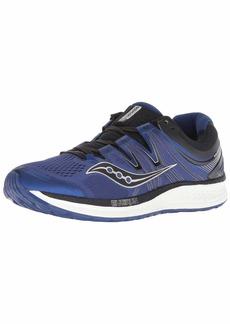 Saucony Men's Hurricane ISO 4 Sneaker Blue/Black 075 M US
