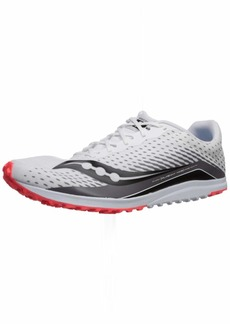 Saucony Men's Kilkenny XC 8 Flat Track Shoe White/RED 125
