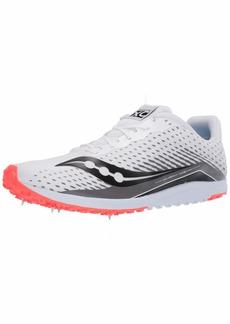 Saucony Men's Kilkenny XC 8 Track Shoe White/red  Medium US